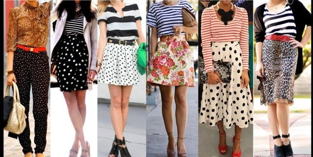 The Different Ways Of Mixing and Matching Textures and Prints In Outfits