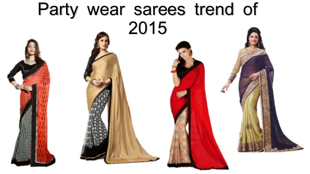 Trendy Sarees: Latest Craze Among Party Goers
