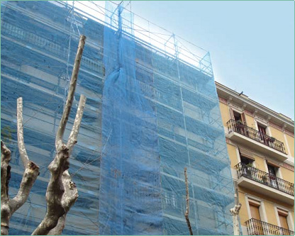 How To Deal With Debris Netting Process?