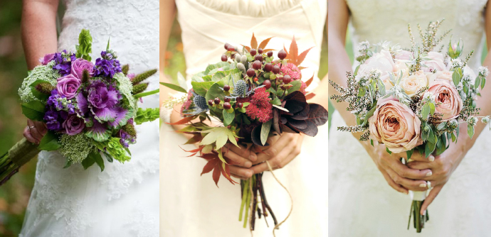 8 Different Types Of Bridal Bouquets For Your Wedding