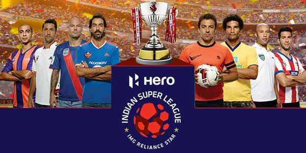 8 Teams Of Indian Super League