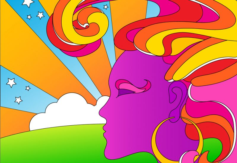 Peter Max Glorifying The Pop Art