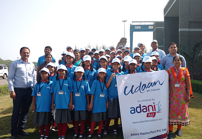 Adani Foundation's Project Udaan: A Tale Of Inspiring 2 Lakh Students And Counting