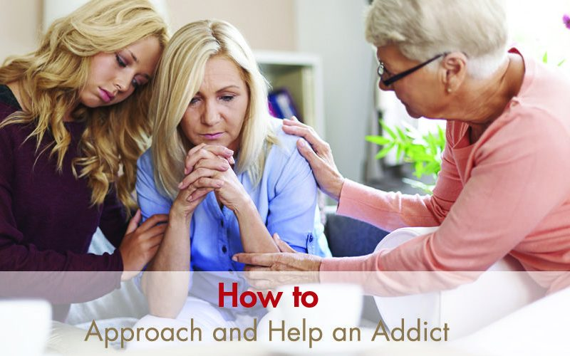 How to Approach an Addict