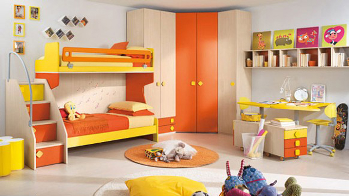 Ideas For Furnishing And Decorating A Room For Children ...