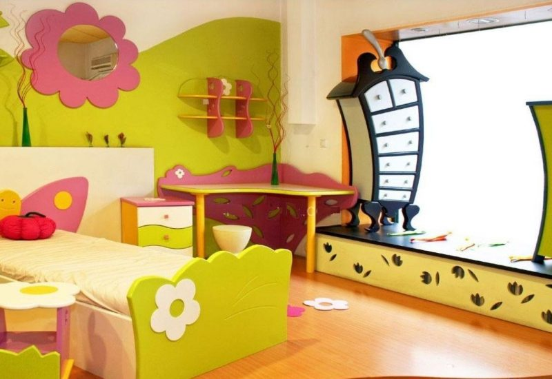 Ideas For Furnishing And Decorating A Room For Children