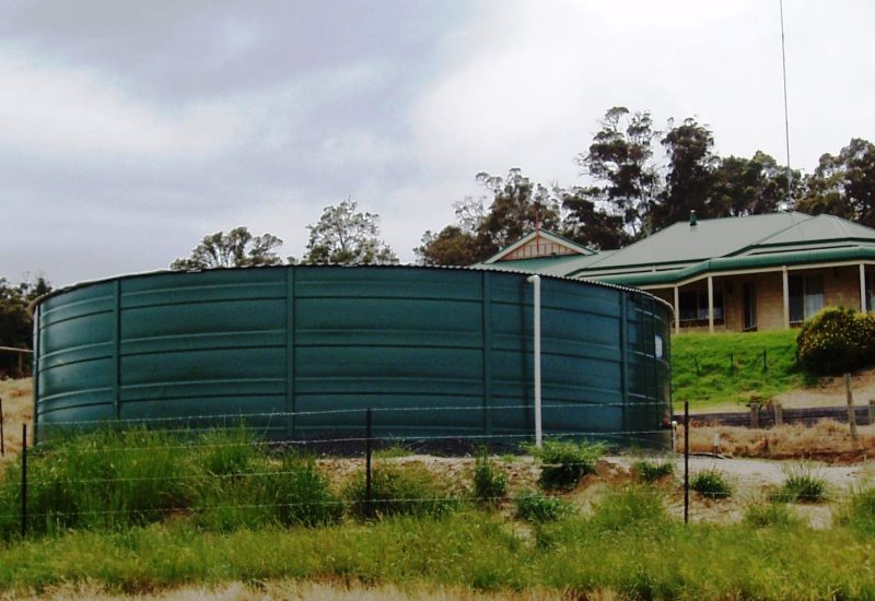 Types of water tanks