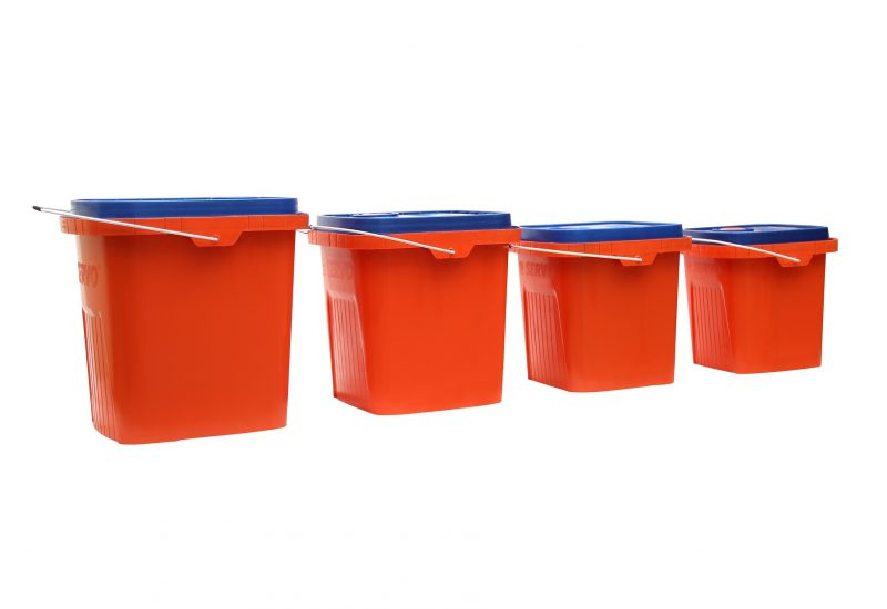 Useful ideas of using a plastic storage container