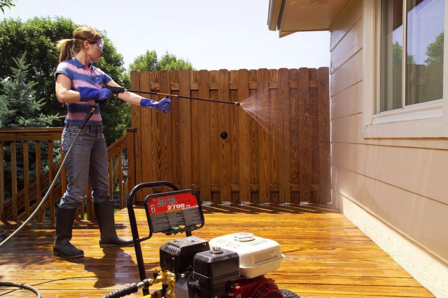 DIY or Rental Power Washing