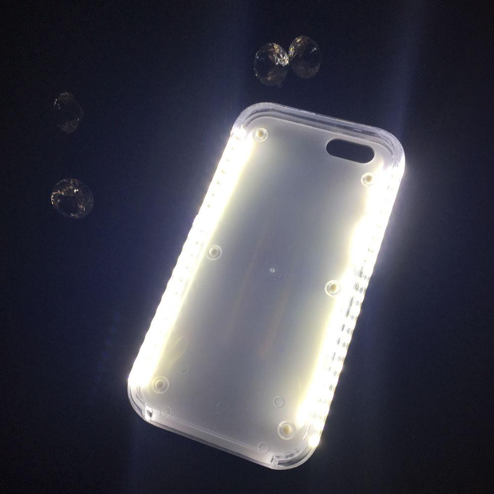 affordable selfie light phone case